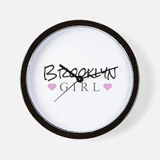 Brooklyn Girl Wall Clock