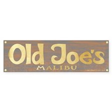 Old Joe's Malibu Bumper Bumper Sticker
