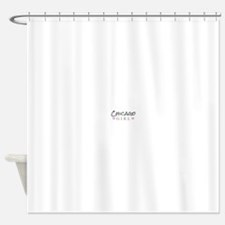 Chicago Girl Shower Curtain
