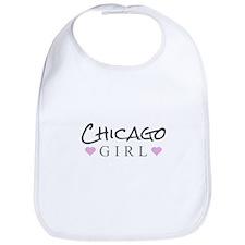 Chicago Girl Bib