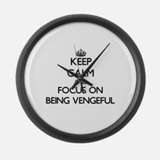 Funny Spi Large Wall Clock