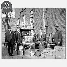 Unique Vintage retro Puzzle