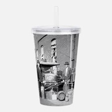 Cute Model t ford Acrylic Double-wall Tumbler