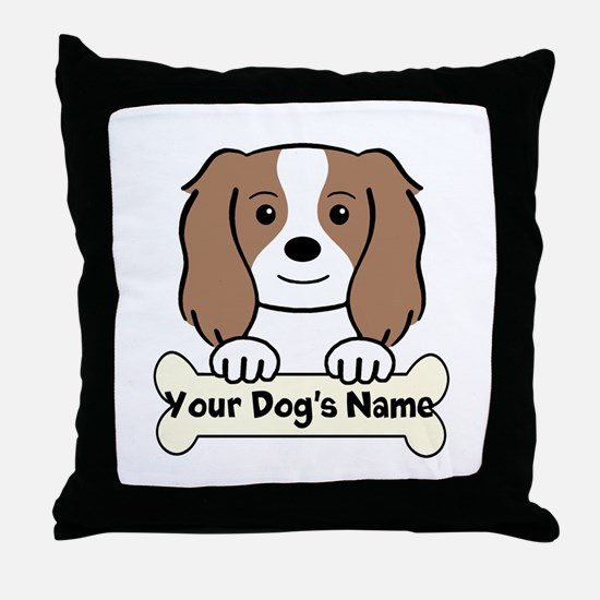 Personalized Cavalier Throw Pillow
