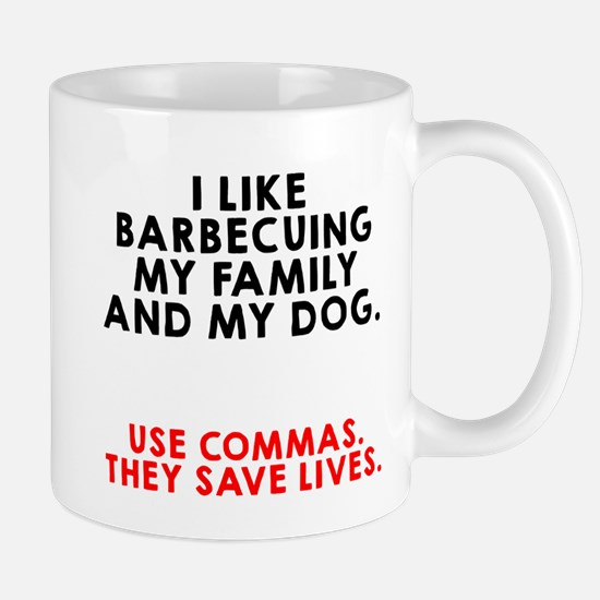 I like barbecuing my family Mug