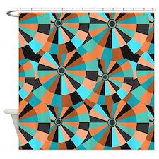 Cute Optical illusion Shower Curtain