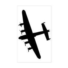 Avro Lancaster Fly Over Decal