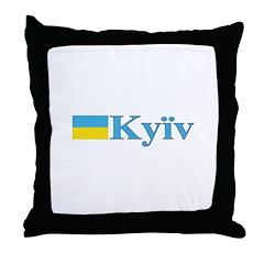 Kyiv, Ukraine Throw Pillow