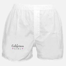 California Girl Boxer Shorts