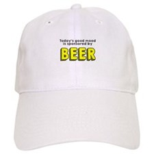 Today's good mood beer Baseball Cap
