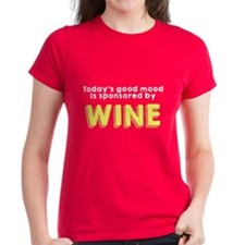 Today's good mood wine Tee