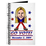 Vote 2004 Color Journal