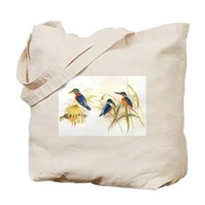 Goulds Kingfisher Birds Tote Bag