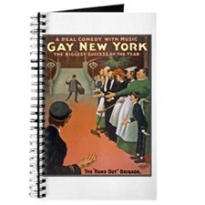 Gay New York Poster Journal