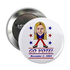 Vote 2004 Color Button