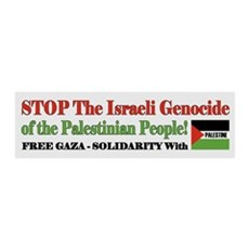 Zionist Genocide - Wall Decal