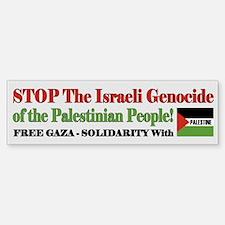 Zionist Genocide - Bumper Bumper Sticker