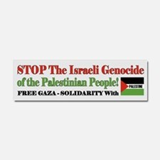 Zionist Genocide - Car Magnet 10 x 3