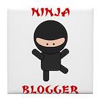 Ninja Blogger Tile Coaster