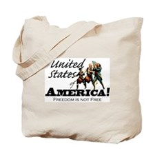 True-Warrior - American Revolution Tote Bag