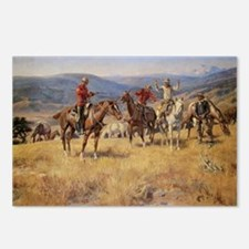 Vintage Cowboys Postcards (Package of 8)