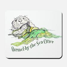 Carmel Sea Otter Mousepad