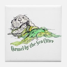Carmel Sea Otter Tile Coaster