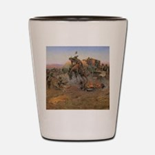 Vintage Cowboys Shot Glass