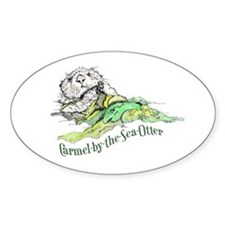 Carmel by the Sea Otter Decal