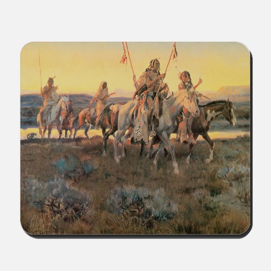 Vintage Native American Indians Mousepad