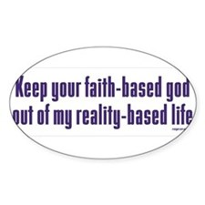 Keep Your Faith-Based Decal