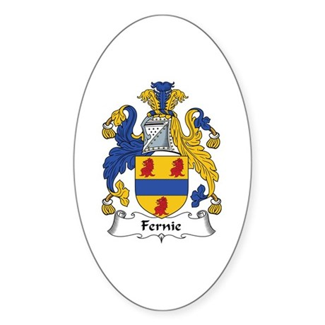 Fernie Oval Sticker