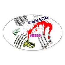 Zach Attack BB16 TeamSpirit! Bumper Stickers
