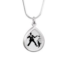 Swing Dancers Necklaces