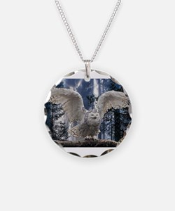 Funny An owl Necklace