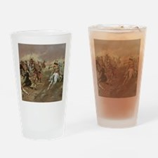 Vintage Native American Indians Drinking Glass