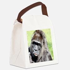 Unique Macaque Canvas Lunch Bag