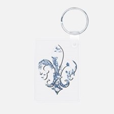 FRENCH TOILE Keychains