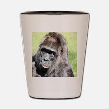 Funny Macaque Shot Glass