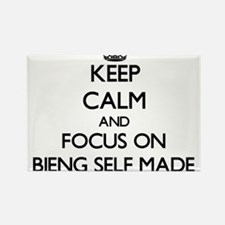 Keep Calm and focus on Bieng Self-Made Magnets