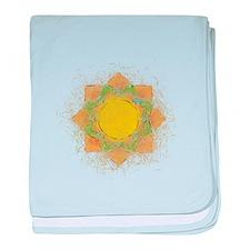 Cute Buddhism symbol baby blanket