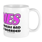 Ladies Lower Your Shields Mug