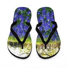 Cute Wildflowers Flip Flops