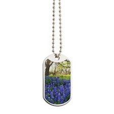 Unique Bluebonnet Dog Tags