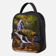 Unique Smokey mountains Neoprene Lunch Bag