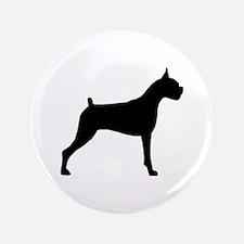 """Boxer Dog 3.5"""" Button"""