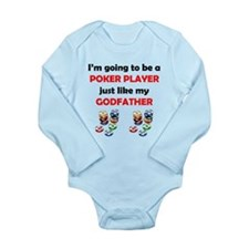 Poker Player Like My Godfather Body Suit