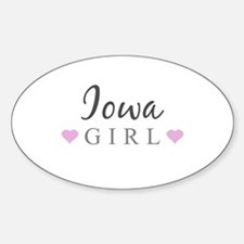 Iowa Girl Decal