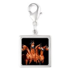 Four Horses Charms