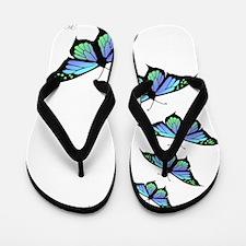 Unique Butterfly Flip Flops